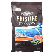 Castor And Pollux - Pristine Grain Free Dry Dog Food - Wild Caught Salmon And Chickpea - 10 Lb.