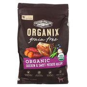 Castor And Pollux - Organix Grain Free Dry Dog Food - Chicken And Sweet Potato - Cs Of 1-10 Lb.