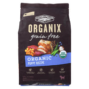 Castor And Pollux - Organix Grain Free Dry Dog Food - Puppy Recipe - Cs Of 1-10 Lb.