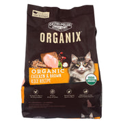 Castor And Pollux - Organix Dry Cat Food - Chicken And Brown Rice - Case Of 5 - 3 Lb.