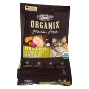 Castor And Pollux - Organix Grain Free Dry Cat Food - Chicken And Sweet Potato - Case Of 5 - 3 Lb.