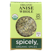 Spicely Organics - Organic Anise Whole - Case Of 6 - 0.3 Oz.