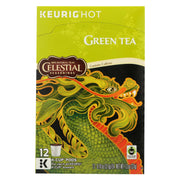 Celestial Seasonings - Tea - Green K-cups - Case Of 6 - 12 Count
