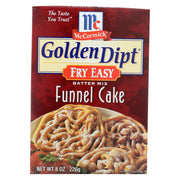 Golden Dipt - Breading - Funnel Cake Mix - Case Of 8 - 8 Oz.