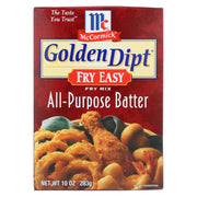 Golden Dipt Breading - Batter Mix - Pack Of 8 - 10 Oz - Kkdu Market
