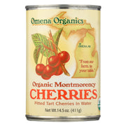 Omena Organics Tart Cherry - Organic - Pitted In Water - Pack Of 12 - 14.5 Oz - Kkdu Market