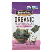 Annie Chun's Seaweed Snack - Sea Salt And Vinegar - Pack Of 12 - .35 Oz. - Kkdu Market