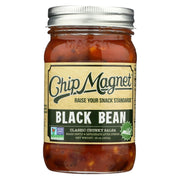 Chip Magnet Salsa Sauce Appeal Salsa - Black Bean - Pack Of 6 - 16 Oz - Kkdu Market
