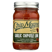 Chip Magnet Salsa Sauce Appeal Salsa - Garlic - Chipotle - Lime - Pack Of 6 - 16 Oz - Kkdu Market