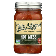 Chip Magnet Salsa Sauce Appeal Salsa - Hot Mess - Pack Of 6 - 16 Oz - Kkdu Market