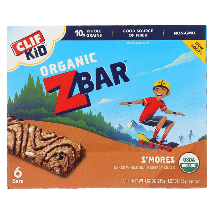 Clif Kid Zbar - Smores - Pack Of 9 - 7.62 Oz - Kkdu Market