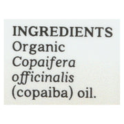 Aura Cacia Essential Oil - Copaiba - Pack Of 1 - .25 Fl Oz. - Kkdu Market