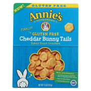 Annie's Homegrown - Cheddar Bunny Tails - Case Of 12-7.5 Oz.