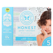 The Honest Company - Club Box - Diapers Size 5 - Teal Tribal And Space Travel - 50 Count