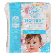 The Honest Company - Diapers Size 3 - Rose Blossom - 27 Count