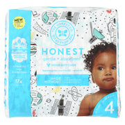 The Honest Company - Diapers Size 4 - Space Travel - 23 Count