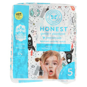The Honest Company - Diapers Size 5 - Space Travel - 20 Count