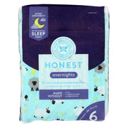 The Honest Company - Overnight Diapers Size 6 - Sleepy Sheep - 17 Count