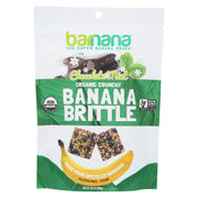Barnana - Organic Banana Brittle - Chocolate Mint - Case Of 10 - 3.5 Oz.