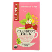 Clipper Tea - Organic Tea - Strawberry Fields - Case Of 6 - 20 Bags