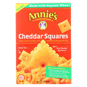 Annie's Homegrown - Cracker  Chedder Sqrs - Case Of 12-7.5 Oz.