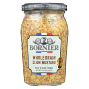 Bornier - Mustard - Whole Grain - Case Of 6 - 7.4 Oz.