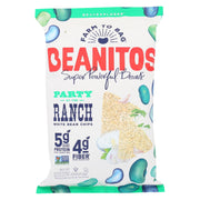 Beanitos - White Bean Chips - Party At The Ranch - Case Of 6 - 4.5 Oz.