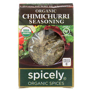 Spicely Organics - Organic Seasoning - Chimichurri - Case Of 6 - 0.1 Oz.