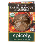 Spicely Organics - Organic Seasoning - Ras El Hanout - Case Of 6 - 0.4 Oz.