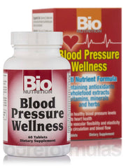 BIO NUTRITION: Blood Pressure Wellness, 60 tablets - Kkdu Market
