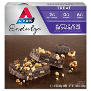 ATKINS NUTRITIONAL: Advent Bar 5pk Brownie Nutty, 7 oz - Kkdu Market