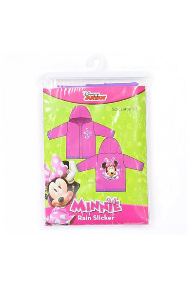 Girls minnie mouse 2-7 rain slicker