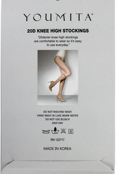 Ladies fashion knee high stockings for everyday use