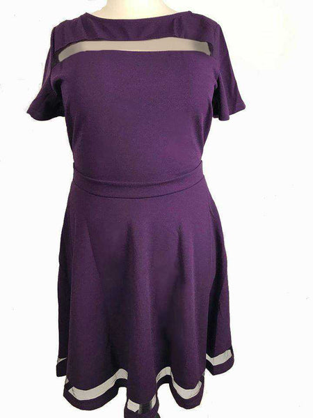 Purple Mod Dress