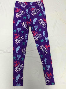 Mama Mermaid Leggings