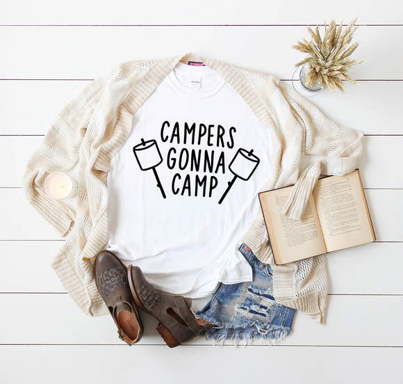 Campers Gonna Camp | Tee & Tanks