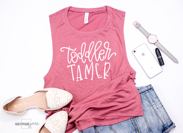 Toddler Tamer | Women's Flowy Muscle Tank