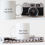 Hustle For The Pretty Things | Ceramic Coffee Mug