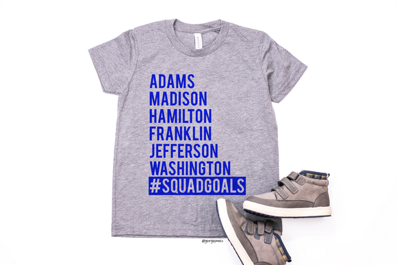 Squad Goals | Kids 4th of July Tee