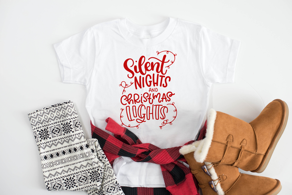 Silent Nights Christmas Tee