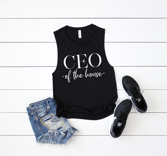 CEO of The House | Tee & Tanks