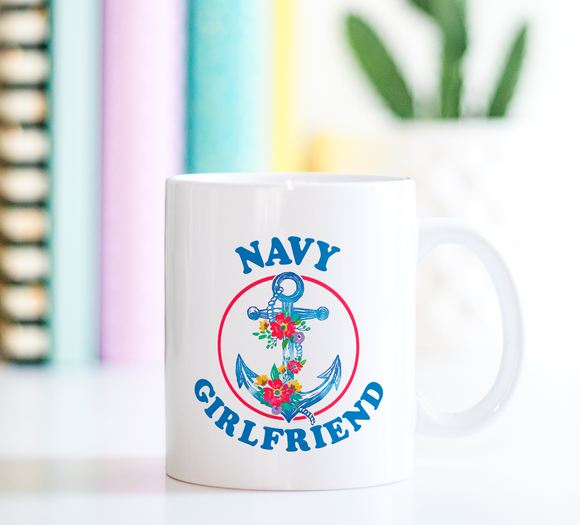 Navy Girlfriend | Ceramic Mug