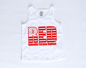 RED Friday | Toddler Tank Top