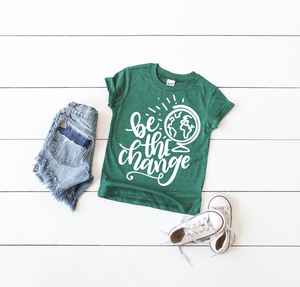 Be The Change | Kids Tee