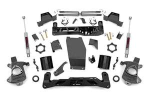 Open image in slideshow, 7IN GM SUSPENSION LIFT | KNUCKLE KIT (14-17 1500 PU 4WD)