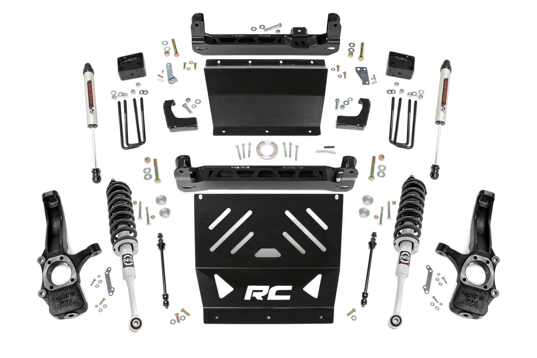 4in GM Suspension Lift Kit | Lifted Struts and V2 Shocks (15-21 Canyon/Colorado 2WD/4WD)