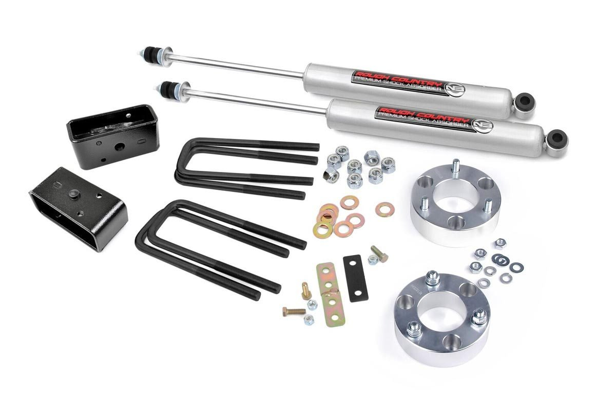 2.5in Toyota Suspension Lift Kit w/N3 Shocks