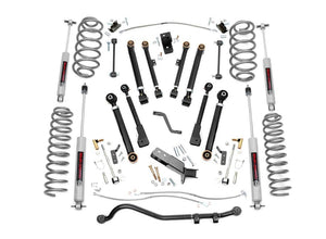 Open image in slideshow, 4IN JEEP X-SERIES SUSPENSION LIFT KIT (97-06 WRANGLER TJ)
