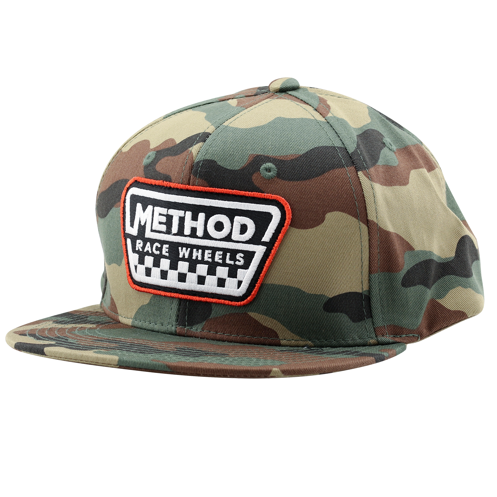 Method Full Camo Checks Hat | Snapback