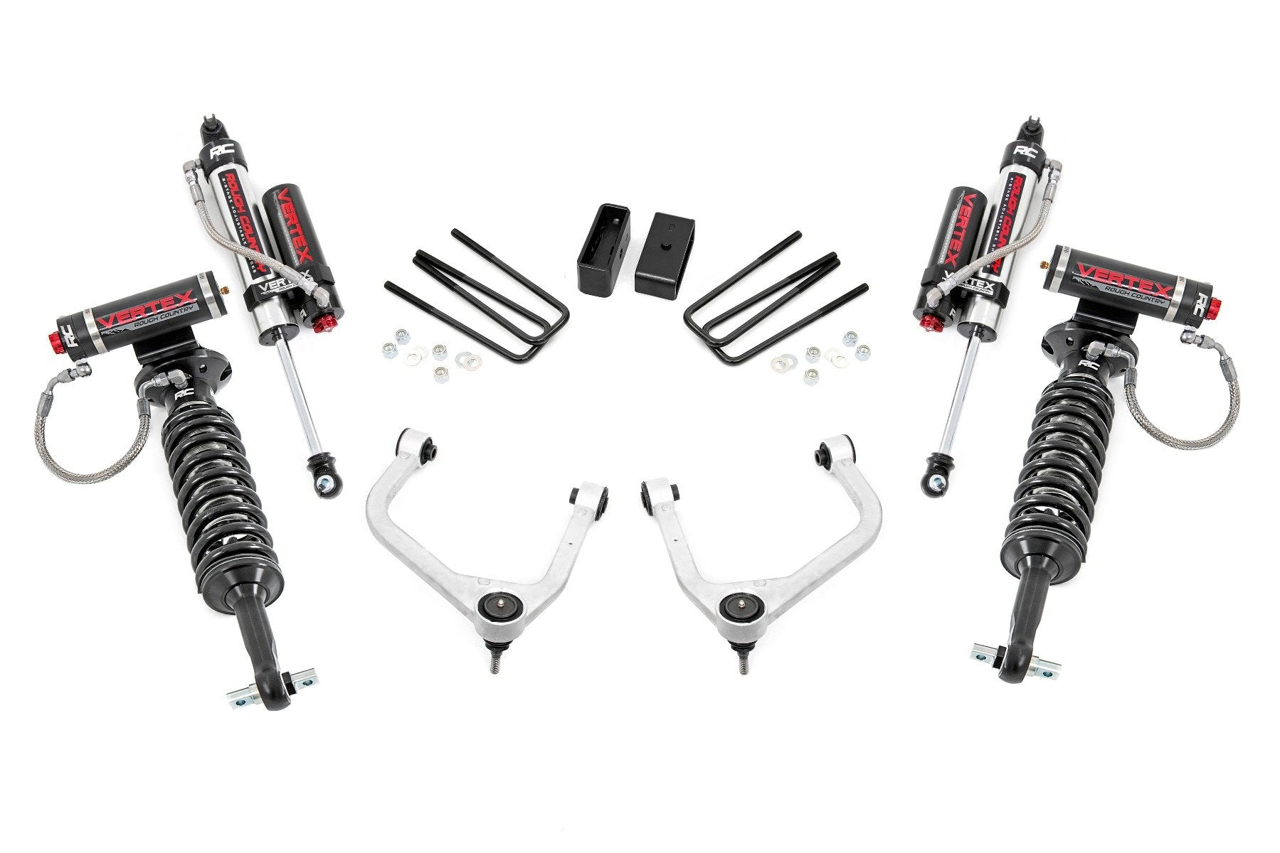 3.5in Vertex Suspension Lift Kit w/ Forged Upper Control Arms (19-21 Chevy 1500 PU 4WD/2WD)